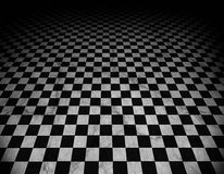 Checkered, marble floor Royalty Free Stock Images