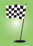 Checkered Markierungsfahne - Vektor Lizenzfreies Stockfoto