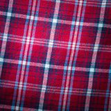 Checkered material background Stock Photography