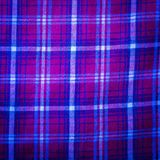 Checkered material background Stock Photos