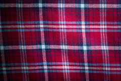 Checkered material background Royalty Free Stock Photos