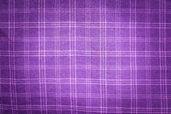 Checkered material background Stock Photo