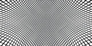 Checkered monochrome предпосылка Простая линейная текстура полутонового изображения иллюстрация штока