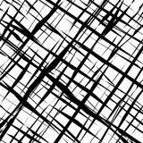 Checkered monochrome vector background. For design and wallpaper Stock Photography