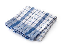 Checkered napkin Royalty Free Stock Photos