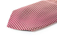 Checkered necktie Royalty Free Stock Images