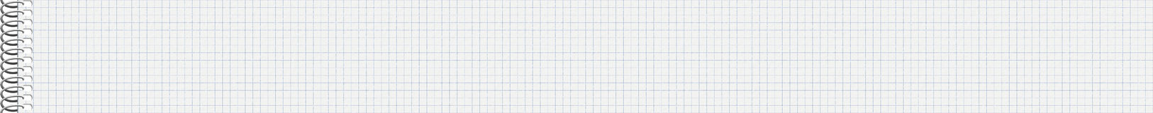 Checkered Notebook Tiled Background Royalty Free Stock Photography