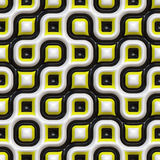 Checkered Organic Pattern Stock Image
