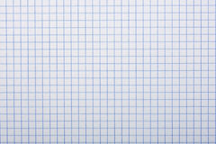 Checkered paper, a background Royalty Free Stock Photo