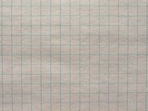 Checkered paper texture background. Geometry or maths notebook checkered paper useful as a background Royalty Free Stock Images