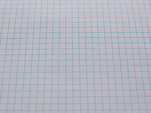 Checkered paper texture background Stock Images