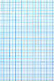 Checkered Papierblatt Lizenzfreies Stockfoto