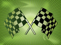 Checkered past Stock Photo