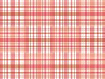 Checkered pattern. Red and white checkered pattern Vector Illustration