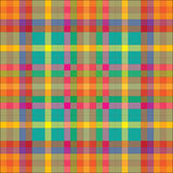 Checkered pattern. Seamless checkered pattern on a napkin Royalty Free Stock Photo