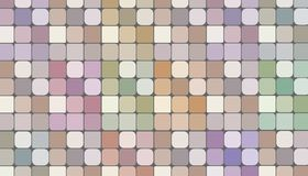 Checkered pattern background in nude tones, illustration Stock Images