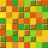 Checkered pattern - different colors - seamless background Stock Photos