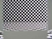 Free Checkered Pattern Room Stock Image - 908441