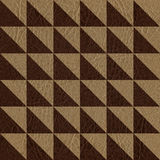 Checkered pattern - seamless background - leather surface Stock Photo