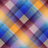 Checkered pattern with transparency. Stock Photography