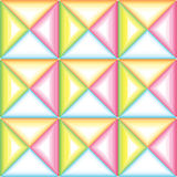 Checkered pattern of triangles Stock Image