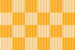 Checkered pattern with vertical striped lines, orange and brown colors. Vector illustration, EPS10. The image can be used as background, backdrop, montage in royalty free illustration
