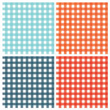 Checkered pattern vintage plaid fabric texture abstract geometri. Vector seamless checkered pattern vintage plaid fabric texture abstract geometric background Royalty Free Stock Images