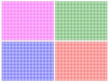 Checkered Patterns Stock Photo