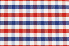 Checkered piece of cloth. In vintage style Royalty Free Stock Image