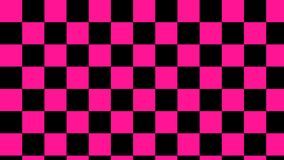 Checkered pink & black squares light pink and deep black seamless pattern vector illustration