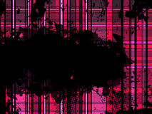 Checkered Pink Grunge Background. Stock Photography