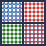 Checkered plaid Stock Image