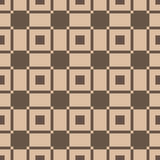 Checkered plaid fabric background. Brown seamless pattern Stock Images