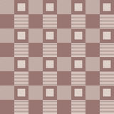 Checkered plaid fabric background. Brown seamless pattern Royalty Free Stock Image