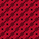 Checkered plaid fabric background. Red seamless pattern Royalty Free Stock Image