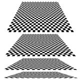 Checkered planes Royalty Free Stock Images