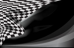 Checkered race flag vector Stock Images
