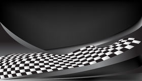Checkered race flag vector background layout design Stock Images