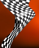 Checkered race flag vector background layout design Royalty Free Stock Image