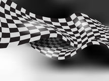 Checkered race flag vector background layout design Stock Photo