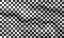 Checkered racing flag Stock Images