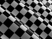 Checkered racing flag Royalty Free Stock Images