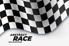 Free Checkered Racing Flag Sports Background Stock Photos - 175433703