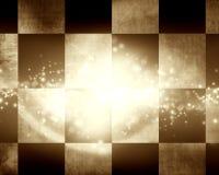 Checkered racing flag Stock Photography