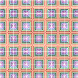 Checkered Retro Pop Art Color Squares Geometric Pattern. Checkered Pop Art Color Squares Geometric Pattern Fabric Vector Template Background Royalty Free Stock Photography