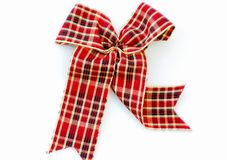 Checkered Ribbon Royalty Free Stock Photo