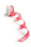 Checkered ribbon Stock Photography