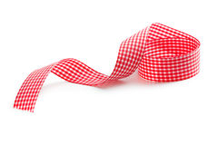 Checkered ribbon Stock Images