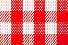 Checkered rotes Sonderkommando stock abbildung