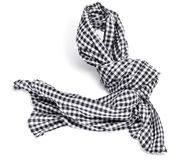 Checkered scarf Stock Photos